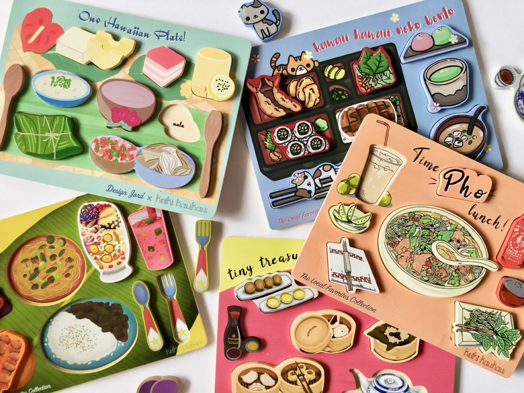 5 Food Puzzles
