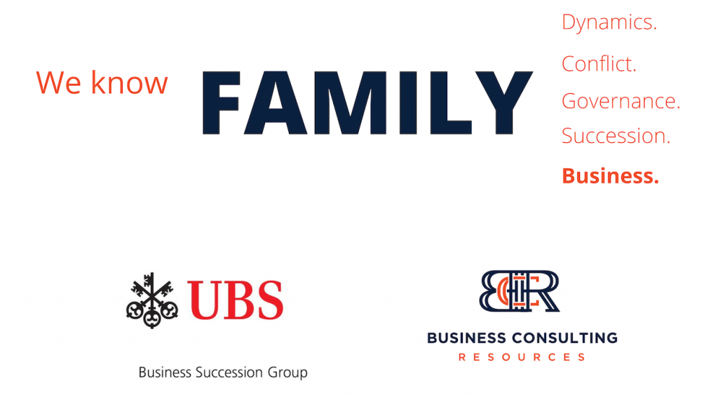 We Know Family - Family Business Forum is created in partnership with UBS Financial Services, Inc. and Business Consulting Resources