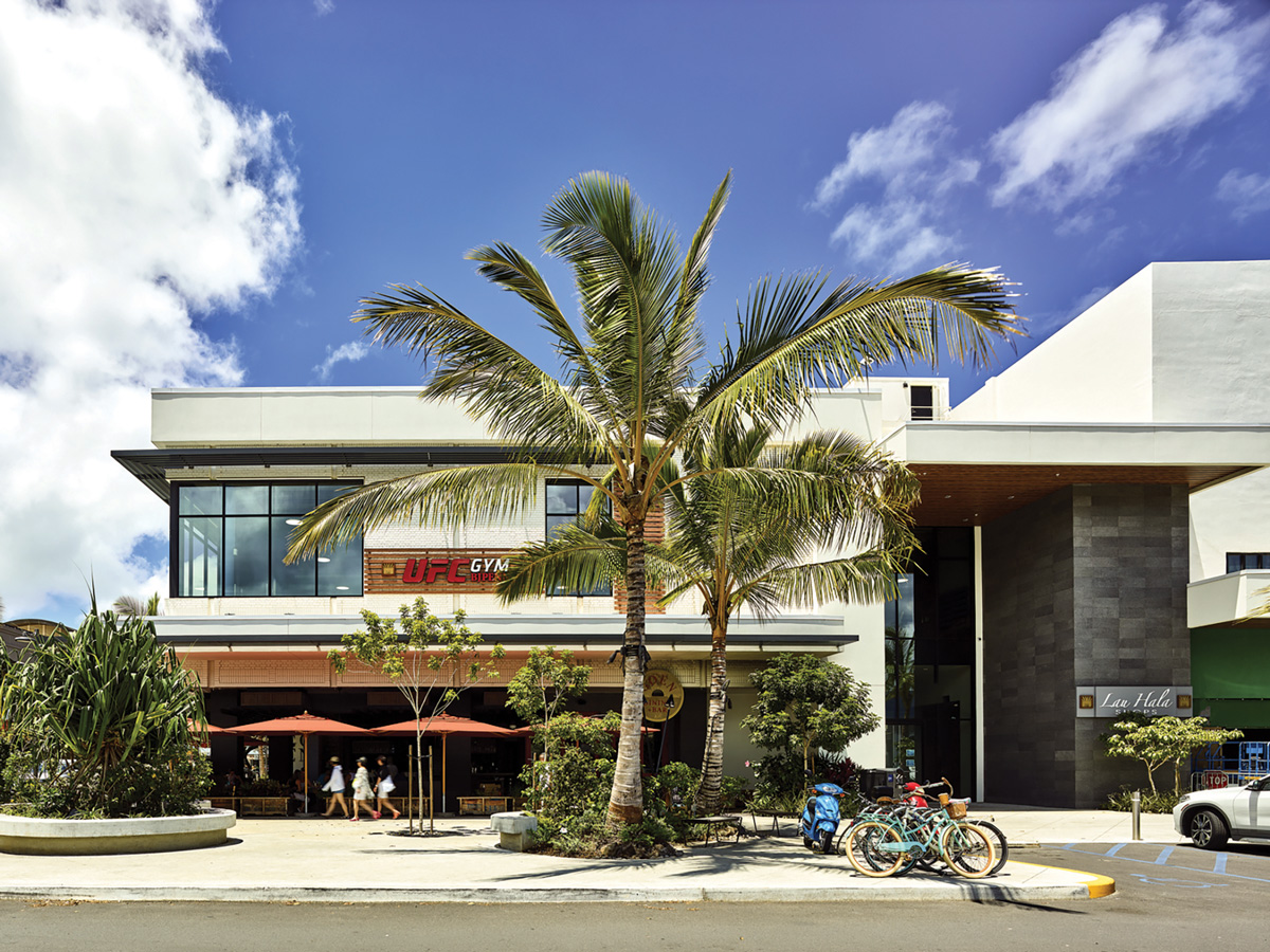 The Macy's store in Kailua was transformed into Lau Hala Shops, a mix of stores, restaurants and a gym.   Photo: courtesy of AHL